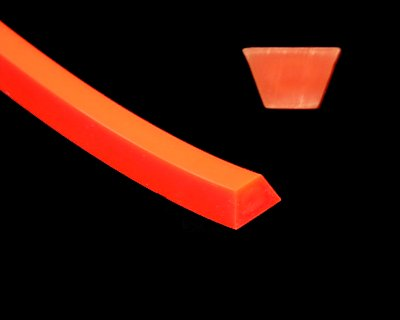 Orange A Section (13mm) 83A, 100' - Click Image to Close