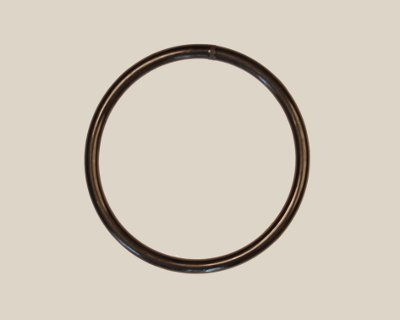 "0.103"" (2.6mm) Black 83A O-ring Belt - Click Image to Close"