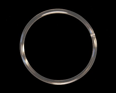 "0.103"" (2.6mm) Clear 83A O-ring Belt - Click Image to Close"