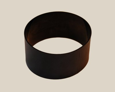 "Flat 1/16"" x 1/4"" (0.25"") Wide 83A Black - Click Image to Close"
