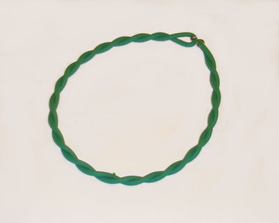"Twisted 3/16"" 88A Rough Green - Click Image to Close"