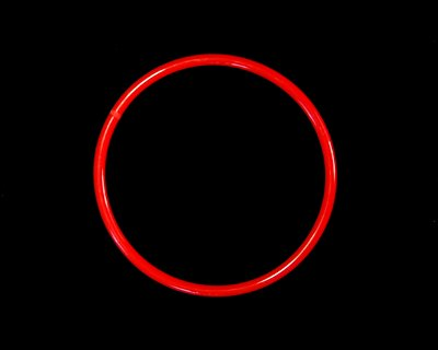 "5/16"" (8mm) Red 90A O-ring - Click Image to Close"