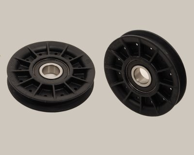 "Round Drive Pulley 3/8"" x 3.5"" - Click Image to Close"
