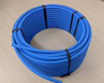 "10mm (0.394"") Rough Blue 88A Cord, 100'"